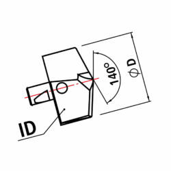 ID 106 TiAlN d=10
