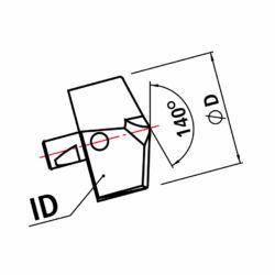 ID 208 TiAlN d=20