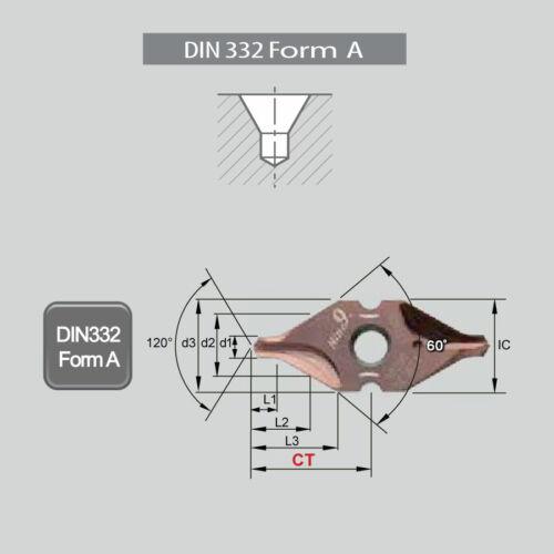 J I9MT08T1A0200-NC5074 kétélű központfúró váltólapka
